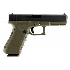 Glock 17 + 1 Round Double Action Only 9MM w/Fixed Sights & Olive Drab Finish