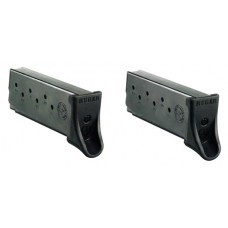 Ruger 90642  Ruger Magazines LC9/LC9S 9mm 7 rd Black Finish 2 pack