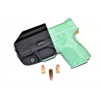 Aggressive Concealment XDSIWBLPBK IWB Kydex Holster Springfield XDS 3.3 9/45 RH