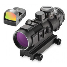 Burris 300177 AR-332 Combo with FastFire III 3x 32mm Obj Illuminated Ballistic CQ Red/Green Black Matte CR2032 Lithium