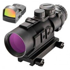 Burris 300178 AR-536 Combo with FastFire III 5x 36mm Obj Illuminated Ballistic CQ Red/Green Black Matte CR2032 Lithium