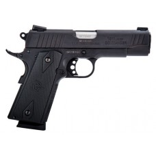 "Taurus 191101COM 1911 Commander Single 45 Automatic Colt Pistol (ACP) 4.2"" 8+1 Black Polymer Grip Black"