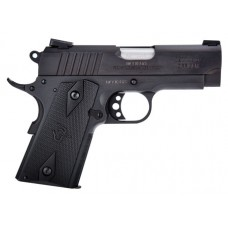 "Taurus 191101OFC 1911 Officer Single 45 Automatic Colt Pistol (ACP) 3.5"" 6+1 Black Polymer Grip Black"