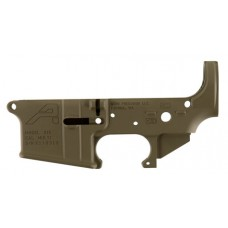 Aero Precision APAR501302C AR-15 Stripped Lower Receiver Gen2 223 Remington/5.56 NATO Flat Dark Earth Cerakote