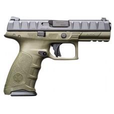 "Beretta USA JAX92070 APX RDO Single/Double 9mm Luger 4.25"" 10+1 Black Interchangeable Backstrap Grip Black"