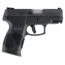 "Taurus 1G2C93112 111 G2C Single/Double 9mm Luger 3.2"" 12+1 Black Polymer Grip Blued Stainless Steel"