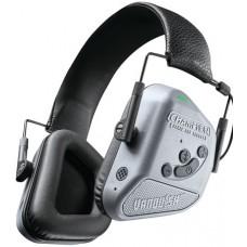 Champion Targets 40982 Vanquish Hearing Protection Electronic Hearing Muff  Bluetooth Electronic Earmuff Gray