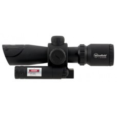 Firefield FF13063 Barrage with Picatinny Mount/Green Laser 1.5-5x 32mm Obj 42-14.7 ft @ 100 yds FOV  Tube Black Matte Illuminated Mil-Dot Red/Green
