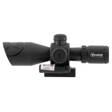 Firefield FF13065 Barrage with Picatinny Mount/Red Laser 2.5-10x 40mm Obj 34.86-11.53 ft @ 100 yds FOV  Tube Black Matte Illuminated Mil-Dot Red/Green
