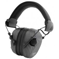 Birchwood Casey 43250 eKrest Electronic Muffs  Earmuff 26 dB Black Carbon Fiber