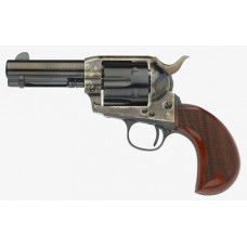"Taylors and Company 555132 1873 Cattleman Bridshead Single 357 Magnum 3.5"" 6 rd Walnut Grip CCH Frame Blued"