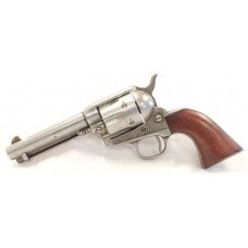 "Taylors and Company 555136 1873 Cattleman Antique Single 357 Magnum 4.75"" 6 rd Walnut Grip Antiqued"