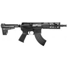"Diamondback DB15P47B7 DB15 AR Pistol Semi-Automatic 7.62x39mm 7"" 28+1 Polymer Black Hardcoat Anodized/Black Nitride"