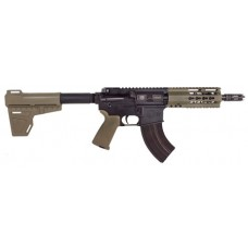 "Diamondback DB15P47FDE7 DB15 AR Pistol Semi-Automatic 7.62x39mm 7"" 28+1 Polymer Flat Dark Earth Cerakote/Black Nitride"