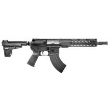 "Diamondback DB15P47B10 DB15 AR Pistol Semi-Automatic 7.62x39mm 10"" 28+1 Polymer Black Hardcoat Anodized/Black Nitride"