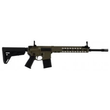"""Barrett 16983 REC7 Carbine Semi-Automatic 5.56 NATO 16"""" 30+1 Magpul 6-Position Stk FDE Cerakote/Black Barrel"""