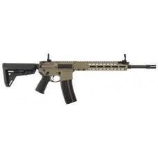 "Barrett 17011 REC7 Carbine Semi-Automatic 6.8mm SPC 16.0"" 10 Magpul 6-Position Stk FDE Cerakote/Black Barrel"