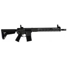 """Barrett 17121 REC7 DI Carbine Semi-Automatic 5.56 NATO 16.0"""" 30+1 Tungsten Grey Cerakote/Black Barrel"""