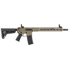 """Barrett 17123 REC7 DI Carbine Semi-Automatic 5.56 NATO 16.0"""" 30+1 FDE Cerakote/Black Barrel"""