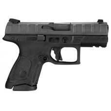 "Beretta USA JAXC920 APX Compact 9mm Luger Double 3.7"" 10+1 Black Interchangeable Backstrap Grip Black Slide"