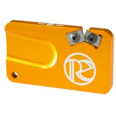 REDI-EDGE/KLAWHORN IND REPS201OR Pocket Knife Sharpener Duromite Carbide Orange with Nylon Sheath