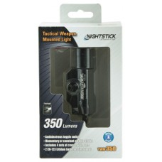 Bayco TWM350 Weapon Mounted Tactical Cree Led 350 Lumens CR123 (2) Battery Black 6061-T6 Aluminum/Anodized