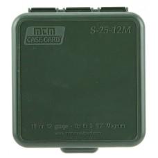 "MTM S2512M11 Dual Gauge Shotshell Case Ammo Box 10/12 Gauge 3.5"" 25 rd Forest Green"