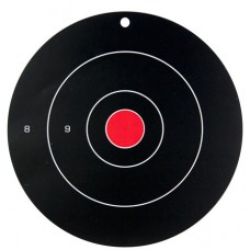 """Birchwood Casey 35070 Dirty Bird Bull's-Eye 12"""" Target 100 Pack Black/Red/White"""