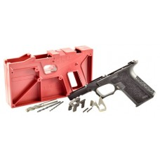 Polymer80 P80PF940CLBK G17/22 Gen3 Compatible 80% Pistol Frame Kit  Glock 17/22 Gen3 Polymer Black Rubber