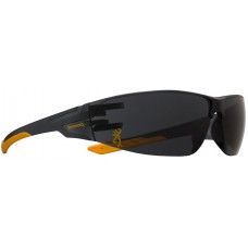 Browning 12762 Shooters Flex Glasses Eye Protection Smoke Lens/Gold Temple