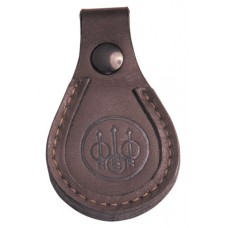 """Beretta USA SL0100200085 Barrel Rest Toe Pad Leather Brown 4"""" x 2.5"""""""