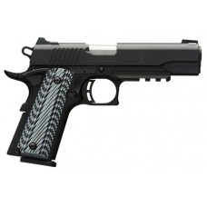 Browning 051901492 1911-380 Black Label Pro with Rail SAO 380 Automatic Colt Pistol (ACP) 4.25