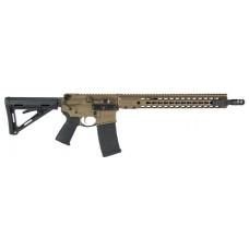 """Barrett 15984 REC7 DI Gen II Semi-Automatic 223 Remington/5.56 NATO 16"""" 30+1 Magpul MOE Blk Stk Bronze"""