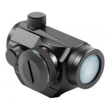 Aim Sports  Micro Dot   1x 20mm Obj 4 MOA Dual Illuminated Red/Green Dot Black