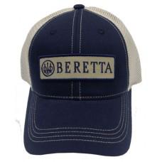 Beretta USA BC0520166005 LP Trucker  Hat Cotton/Mesh Navy