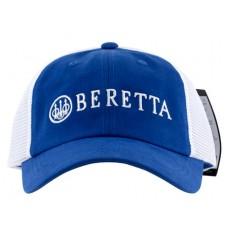 Beretta USA BC0520166005 LP Trucker  Hat Cotton/Mesh Blue