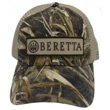 Beretta USA BC0520166008 LP Trucker  Hat Cotton/Mesh Realtree Max-5