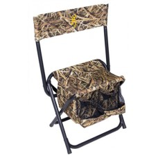 """Browning 8525001 Dove Shooter  Chair Polyester/Steel Mossy Oak Shadow Grass Blades 22"""" W x 11.5"""" D x 33"""" H"""