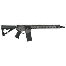 """Barrett 15423 REC7 DI Gen II Semi-Automatic 300 AAC Blackout/Whisper (7.62x35mm) 16"""" 30+1 Magpul MOE Blk Stk Gray Cerakote"""