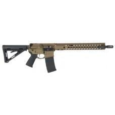 "Barrett 15992 REC7 DI Gen II Semi-Automatic 300 AAC Blackout/Whisper (7.62x35mm) 16"" 30+1 Magpul MOE Blk Stk Bronze"