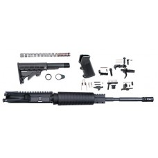 "ATI ATIRKT03 5.56 Rifle Upper Kit 223/5.56 NATO 16"" 6-Pos Collapsible Stk Blk"