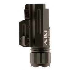 Aim Sports FQ220 Flashlight with Quick Release Mount 220 Lumens  Black