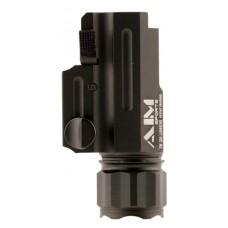 Aim Sports FQ220 Flashlight with Quick Release Mount 220 Lumens  Black