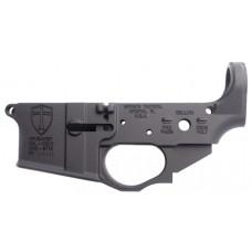 Spikes STLS022 Crusader Stripped AR-15 AR Platform Multi-Caliber Black Hardcoat Anodized