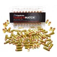 CapArms M380N100B Target Match 380 Automatic Colt Pistol (ACP) 100 GR Flat Nose 50 Bx/ 20 Cs