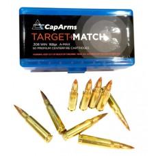 CapArms M357N158B 357 Remington Magnum 158 GR Round Nose Flat Point 50 Bx/ 20 Cs