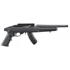 "Ruger 4924 22 Charger Pistol Takedown Semi-Automatic 22 Long Rifle 10"" 15+1 Polymer Black"