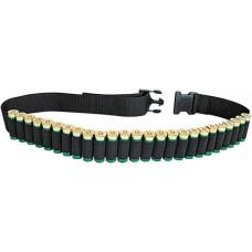 Allen 211 Shell Belt Shotgun Black Cordura Nylon