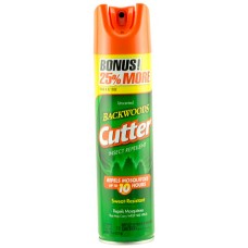Cutter 53656 Backwoods Aerosol Insect Repellant Insect Repellent Mosquito, Gnat, Chigger, Tick, Biting Fly