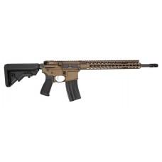 """Bravo 750-790-BRZ BCM RECCE-16 Semi-Automatic 223 Remington/5.56 NATO 16"""" 6-Position Blk Stk Bronze"""